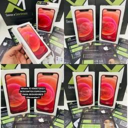 Título do anúncio: IPHONE 12 RED LACRADO ? O MELHOR PREÇO É AQUI - ATÉ 18X
