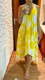 Vestido ponta tye dye