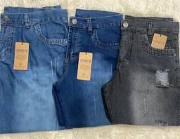 Bermudas masculinas jeans