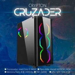 PC Gamer Crypton - Cruzader - COD War Zone, Fortnite, Rainbow Six