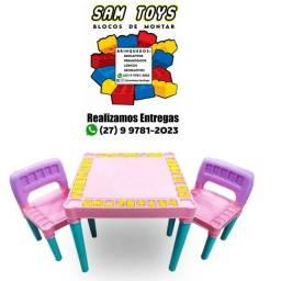 Mesa Estimuladora Educativa, coma, brinque e estudo mim só lugar