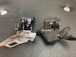 Título do anúncio: Câmbio Shimano XT e Passador Shimano Alivio