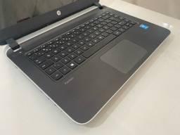 Título do anúncio: Notebook HP 14 Core I5 4 Geração, Placa Vídeo Dedicada Nvidia, SSD 240GB, Ótimo estado