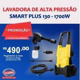 Lavadora de Alta Pressão Smart Plus 130 127V/60HZ ? Entrega grátis