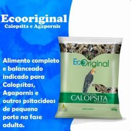 Ração Para Calopsita e Agapornis 500gr atacado pct 10un