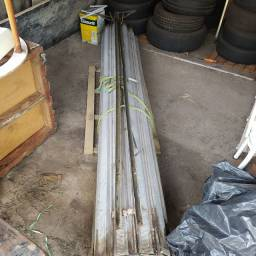 Porta de aço para vão de 2.60x2.60