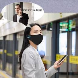 Máscara Covid-19 com Bluetooth