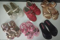 Lote calçados tm 26