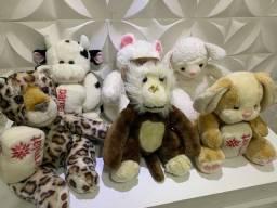 COLEÇÃO PARMALAT 2003, ursos para decorar quarto infantil e colecionadores