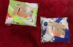 Jogo de cama casal 3 peças algodão
