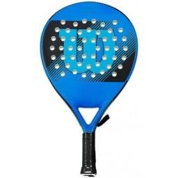 Título do anúncio: Raquete de Padel Wilson Striker WRT97070U - Preto/Azul