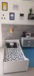 Mini cama tokstok com colchao