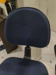 Cadeira alta de escritório/ recepção