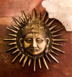 Imagem Deus Sol mascara indiana original