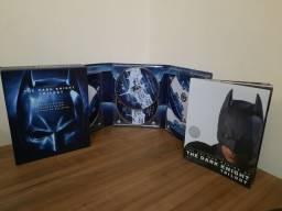 Box 5 discos blu-ray: Batman trilogia The Dark Knight