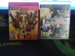 Dois jogos de PS3