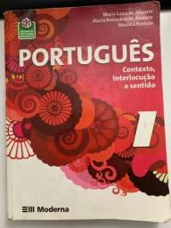 Livro de Português editora Moderna