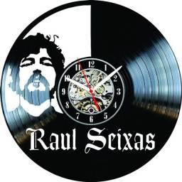 Relógio de parede, Raul Seixa, em Vinil