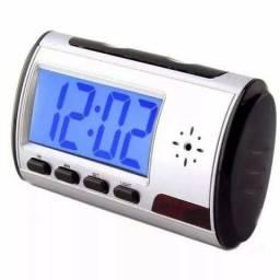 63334ba47b7 Relógio Espião Com Micro Câmera Camuflada E Detector De Movimento