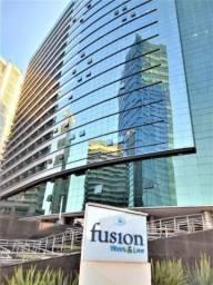 Sala comercial de 165m2 no SHN QUadra 1 Ed. Fusion - Setor Hoteleiro Norte