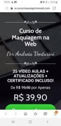 Curso de maquiagem na web com certificado !!!