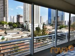 Apartamento à venda com 3 dormitórios em Setor marista, Goiânia cod:NOV235937