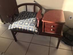 Móveis cadeira com mesa / banco