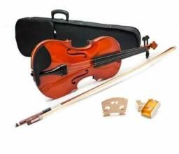 Vendo violino novíssimo, Só não vem com a ombreira!