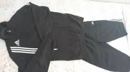 Capote + Calça Adidas Masculino