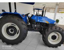 Trator New Holland 4030, ano 2019 + implementos