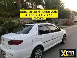 Siena 2016 _ Único Dono _ Pouco Rodado _ Completo