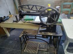 Máquina sapateiro/seleiro antiga funcionando!!!