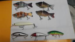 Isca artificial pesca
