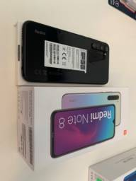 Celular Xiaomi Redmi note 8 black 64GB