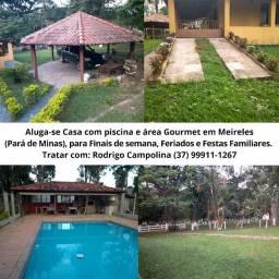 Aluga-se casa em Meireles- Para de minas