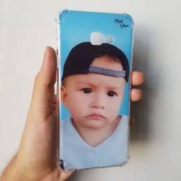 Capa de celular personalizada com seu nome ou foto