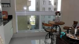 Apartamento à venda com 3 dormitórios em Pitangueiras, Guarujá cod:76005