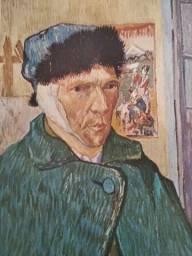 O Homem da Orelha Cortada. Auto-Retrato