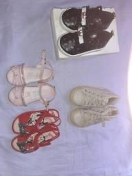 Calçados femininos infantis