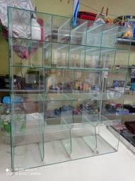 Título do anúncio: Baleiro em vidro/ expositor