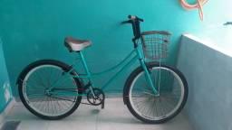 Vendo bicicleta estilo retrô nova