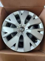 Jogo rodas de ferro Volkswagen Aro 16 - Original c/ calotas
