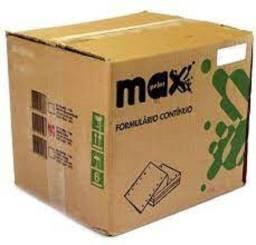 Título do anúncio: Formulário continuo 1 Via 3000 fls Maxprint - NOVO