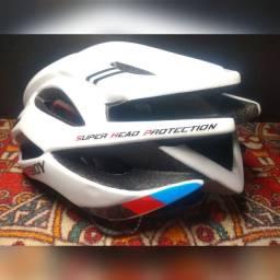 Capacete MTB / Speed na cor branca ou preta