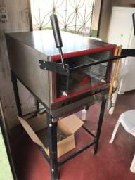 Forno Gas Inox R$1000