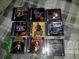 Lote De Jogos Originais De Ps1