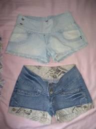5 shorts feminino ( Tam. 40 ) por 50 reais
