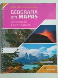 Livro Geografia em Mapas Introdução à Cartografia