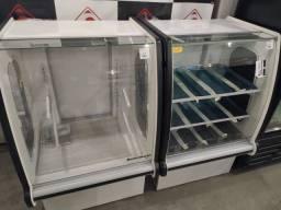 Frente de padaria vitrine seca e estufa *douglas
