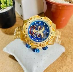 Título do anúncio: Relógio Invicta Joker Premium C/Caixa e Garantia e Bateria Extra
